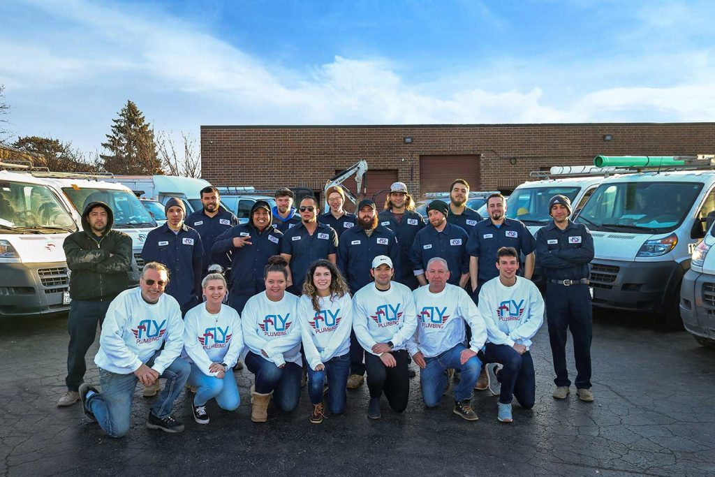 Fly Plumbing Wheeling Illinois Team Pic